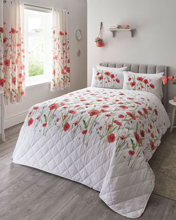 Poppy Fields Bedspread
