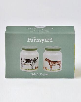 Country Farm Salt and Pepper Set