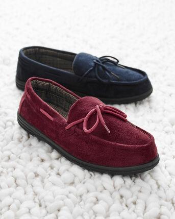 Memory Foam Moccasin Slippers