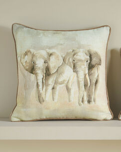 Elephants Cushion