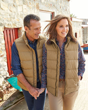 Gillside Showerproof Fleece Lined Gilet