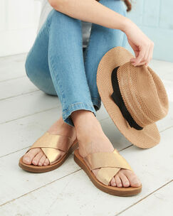 Cross Over Sandals