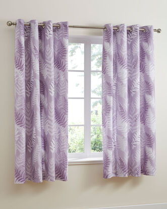 Georgia Eyelet Curtains 66x72""
