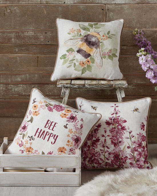 Busy Bee Cushion
