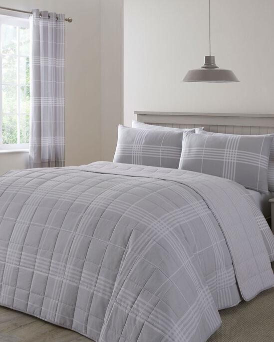 Clarke Check Bedspread