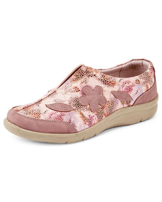Flexisole Slip-on Floral Print Shoes