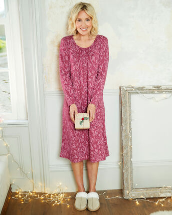 2 Pack of Jersey Night Dresses