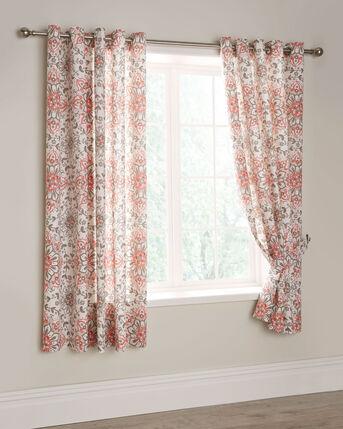 "Safi Eyelet Curtains 66x72"""