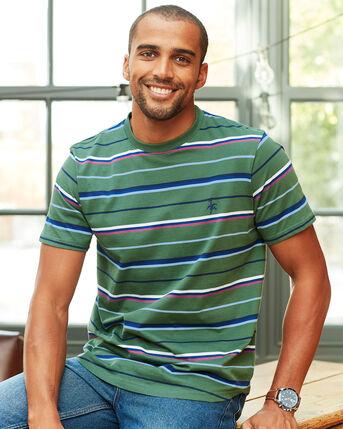 Organic Stripe T-shirt