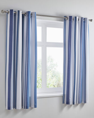 Paignton Eyelet Curtains 66x72""