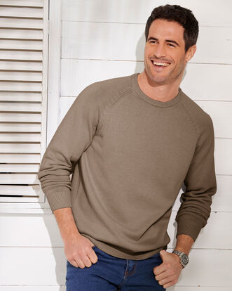 Men's Cotton Crew Neck Jumper