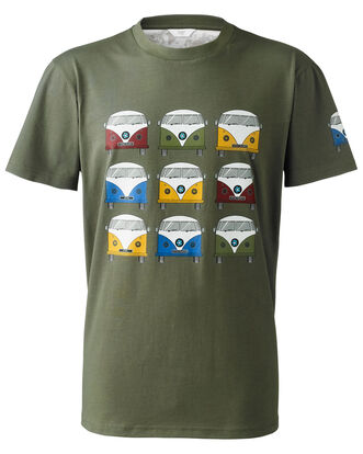 Mid Olive Adventure T-shirt