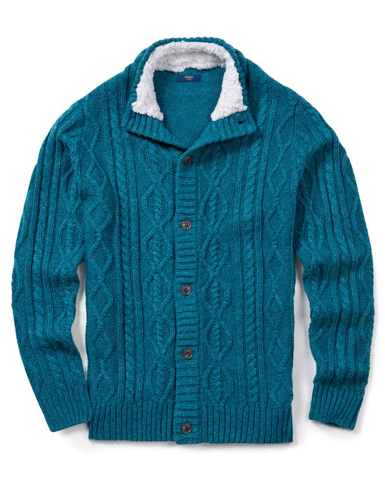Chunky Cable Cardigan