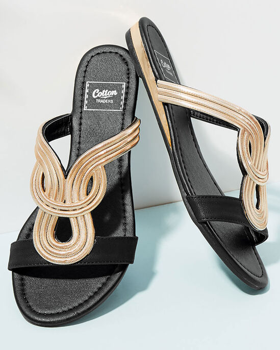 Knotted Trim Mules