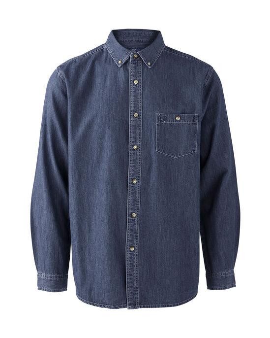 Long Sleeve Denim Shirt