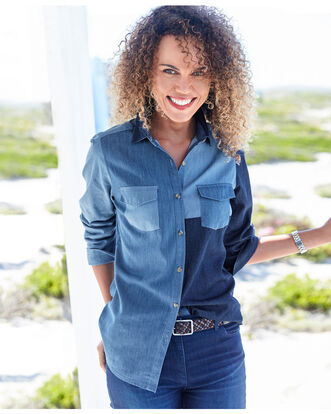 Mix and Match Denim Shirt