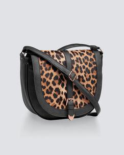 Leopard Saddle Bag