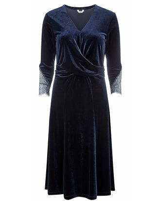 Velour Midi Dress