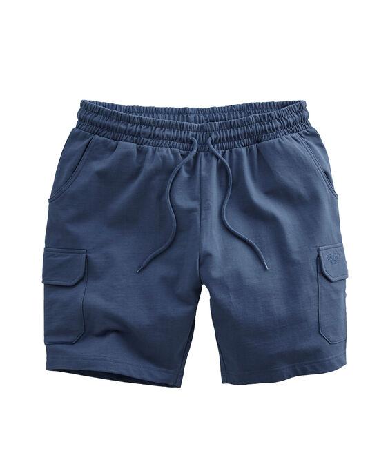 Cotton Cargo Jog Shorts