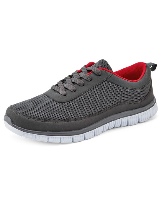 Lightweight Lace-up Memory Foam Trainers