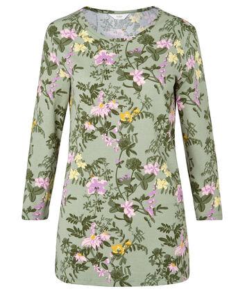 Printed Floral T-shirt