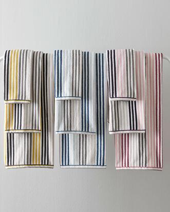 Stripe Bath Sheet (550gsm)