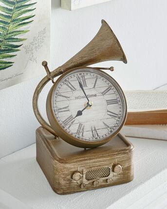 Gramophone Clock