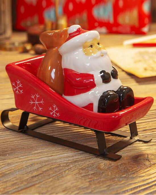 Santa Sleigh Salt and Pepper Set