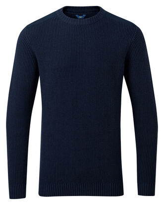 Fisherman's Crew Neck Jumper