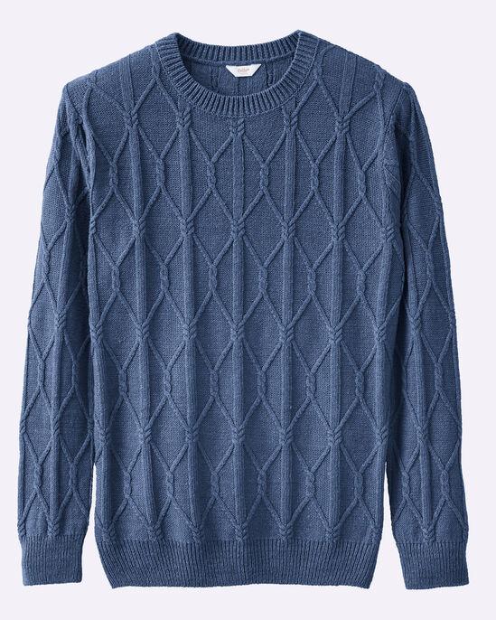 Luxury Linen Rich Cable Knit Jumper