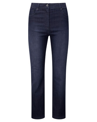 Magic Comfort Straight Leg Jeans (Denim)