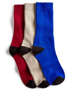 3 Pack Antibacterial Walking Socks