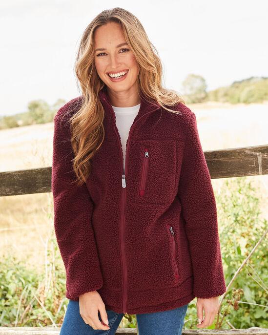 Sherpa Fleece Jacket