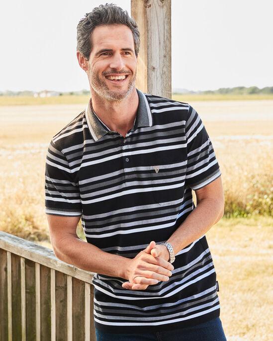 Guinness™ Short Sleeve Stripe Pocket Polo Shirt