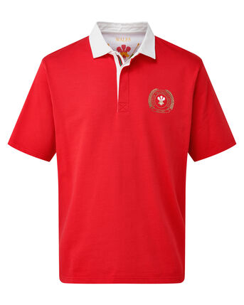 Short Sleeve Wales Rugby Shirt