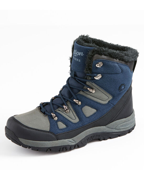 Lace-Up Snow Boots