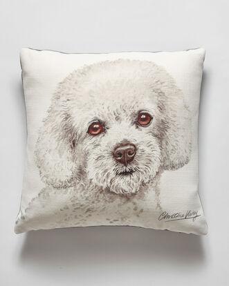 Waggy Dogz Bichon Frise Cushion