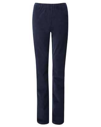 Pull-on Stretch Cord Trousers