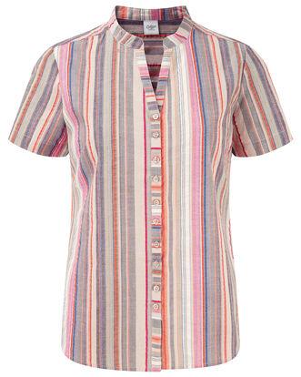 Stripe Seersucker Shirt