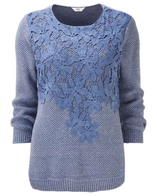 Lace Front Jumper