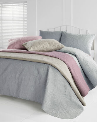 Paris Bedspread and Pillowsham Set