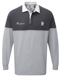 12ab2ef7eb1 Long Sleeve England Rugby Shirt at Cotton Traders