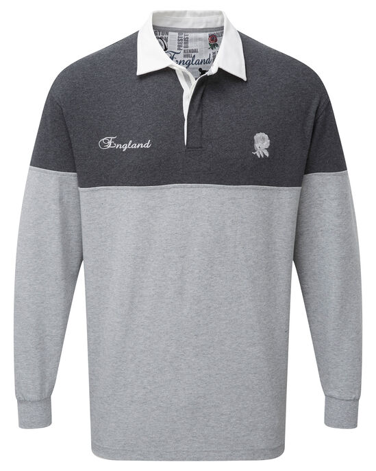 ce08f623262 Long Sleeve England Rugby Shirt at Cotton Traders