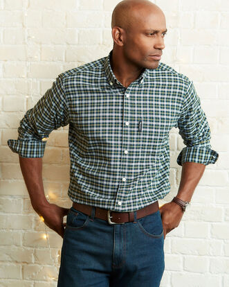 Guinness® Long Sleeve Oxford Check Shirt