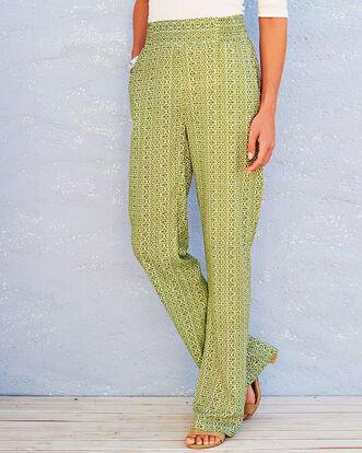 Print Easy Wear Trousers