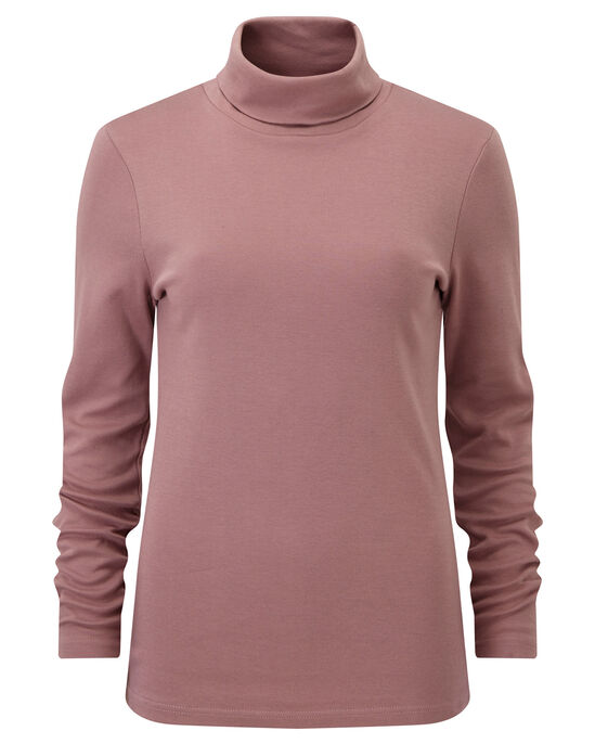 Supersoft Roll Neck Top