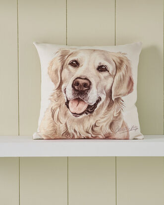 Waggy Dogz Golden Retriever Cushion