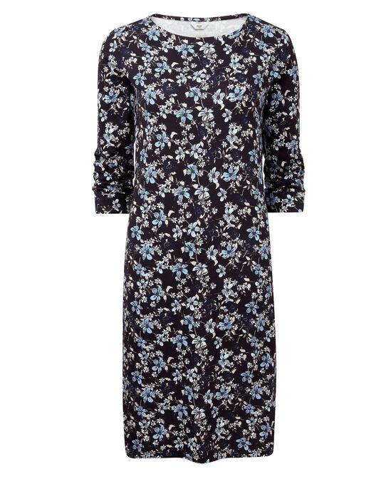 Wrinkle Free Printed Dress