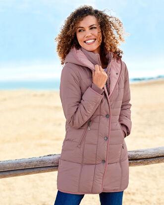 78d7964190e Padded Hooded Coat