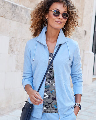 Jersey Jacquard Travel Jacket